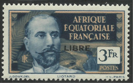 AFRIQUE EQUATORIALE FRANCAISE - AEF - A.E.F. - 1941 - YT 124** - A.E.F. (1936-1958)