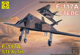 * Plastic Model Kit ! Stealth Aircraft F-117A   Stealth ( Scale 1:72 ) - Airplanes & Helicopters