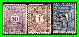 YUGOSLAVIA SELLOS AÑO 1911-22 - 1919-1929 Reino De Los Serbios, Croatas Y Eslovenos