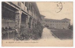 CPA Bligny, Galerie Et Pavillon Est, Gel. 1924 - Autres Communes