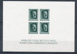 Deutsches Reich Block 8 * Ungebraucht Mi. 50,- + - Deutschland