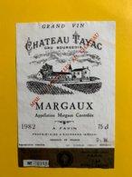 12181 - Château Tayac 1982 Margaux - Bordeaux