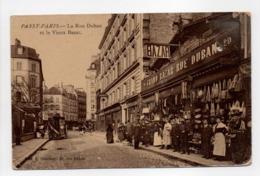 - CPA PASSY-PARIS (75) - La Rue Duban Et Le Vieux Bazar (belle Animation) - Edition E. Dombray - - District 16