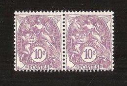 France Paire N°233 NFSCH ** MNH Cote Yvert 2009 = 15.30 € - Neufs