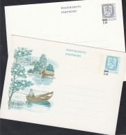 FINNLAND P 148-149, Ungebraucht, Wertstempel: Wappenlöwe Mit Wertaufdruck 1984 - Finland