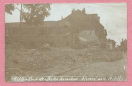 59 - LILLE - Carte Photo Allemande - Ruines - Destructions - Feldpost - Guerre 14/18 - Lille