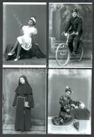 Cca 1945 Mosonyi Antalné (?-?) Marika Fotó Kiskunfélegyházi Műtermének Hagyatékából 13 Db Mai Nagyítás (virágcsarnok, To - Altre Collezioni
