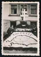1941 Emlékezz Trianonra! - Irredenta Emlékmű Nagy-Magyarország ábrájával, Fotó, 8,5×6 Cm - Altre Collezioni