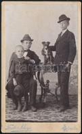 Cca 1910 Gyöngyös, Szánthó Dezső (korábban Fanto és Kluge) Műtermében Készült, Vizitkártya Méretű, Vintage Fotó, 10,5x6, - Altre Collezioni