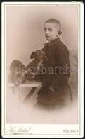 Cca 1910 Kőszeg, Kis Antal Helyi Fényképész által Készített, Vizitkártya Méretű, Vintage Fotó, 10,5x6,5 Cm - Altre Collezioni