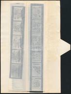 Kb. 180 Db Repró Diapozitív Rajzfilmekről, Egyebekről, Papírtokban - Altre Collezioni