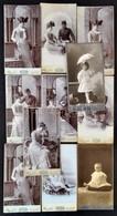 Cca 1910 11 Db Keményhátú Fotó Mai és Társa Budapesti Műterméből, Különböző Méretben - Altre Collezioni