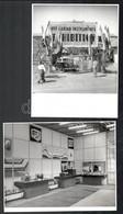 Cca 1968 Keleti Nyitás Anno - Magyar Műszeripari Kiállítás Bombayben, Indiában, 7 Db Hátoldalon Pecsételt Fotó, Szép áll - Altre Collezioni