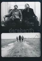 Tarr Béla (?-?): Sátántangó - Egy Film Részletei, Címkével Jelzett Fotók, 3 Db, 13×18 Cm - Altre Collezioni