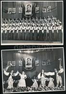 Cca 1950 5 Db Agerpres Sajtófotó, Különböző Rendezvényekről, 18×12 Cm - Altre Collezioni