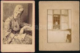 Cca 1900-1980 20 Db Vegyes Fotó, Portrék, Színezett Fotók, Enteriőrök, Különböző Méretekben - Altre Collezioni