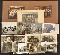 Cca 1910-1960 Vegyes Fotó Tétel, 30 Db, Különféle Témákkal, 5x8 Cm és 11x15 Cm Közötti Méretben. - Altre Collezioni