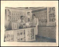 Cca 1930-1942 Érsekújvár, Szent Rókus Gyógyszertér, 3 Db Fotó, 9×6 és 24×29 Cm Közötti Méretekben - Altre Collezioni
