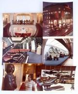 Cca 1970 Magyar-Szovjet Baráti Társaság Székháza, 6 Db Nagyméretű Fotó, 30x23 Cm - Altre Collezioni