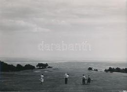 Cca 1950 2 Db Golf Fotó, 17x23 Cm. - Altre Collezioni
