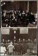 1942 Fényképek A Budai Szabadság Dalkör ünnepi Hangversenyéről és ünnepségéről. 8 Db Fénykép. 16x24 Cm - Altre Collezioni