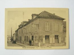 CPA De Margny Les Compiegne.60. Café Tabac De L'Aéro. Animation, Tacot. - Other Municipalities
