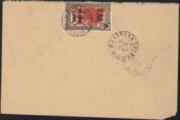 YT 262 Madagascar 1.75 Barré Surcharge 1.50 France Libre CAD Fianarantsoa 10 Juin 44 Manakara - Madagascar (1889-1960)