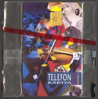 1992 Kozmosz 50 Egységes Magyar Telefonkártya Bontatlan Csomagolásban - Telefonkarten