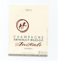 """Etiquette Du Champagne  """"   Arnoult - Ruelle - Champagne"""