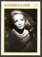 PORTRAIT DE STAR 1945 FRANCE - ACTRICE MADELEINE SOLOGNE - ACTRESS CINEMA FILM PHOTO - Fotos