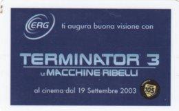 VIACARD ERG TERMINATOR 3 - Italia