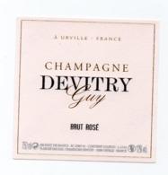 "Etiquette Du Champagne  ""   Devitry  Guy - Champagne"