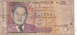 MAURICE / 25 RUPEES 2006 / - Mauritius