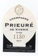Etiquette Du Champagne    Prieuré De Viverie - Champagne