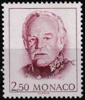 Timbre-poste Gommé Neuf** - Série Courante Effigie De S.A.S. Rainier III - N° 1780 (Yvert) - Principauté De Monaco 1991 - Monaco