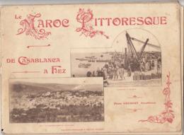 RARE Livre LE MAROC PITTORESQUE De Casablanca à Fez Photo Grebert - Books, Magazines, Comics