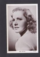 Jean Arthur.    Actress.   Picturegoer Series. (Card Number 1375).     RPPC. - Actores