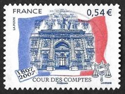 FRANCE  2007 -  YT 117 - Adhésif - Cour Des Comptes  - Oblitéré - Adhésifs (autocollants)