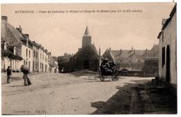 GUERANDE PLACE DU FAUBOURG ST MICHELANIMEE - Guérande