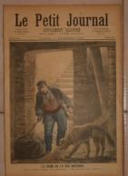 Le Petit Journal. 12 Novembre 1892. Le Crime De La Rue Botzaris. Le Pôle Nord à Paris. - Boeken, Tijdschriften, Stripverhalen