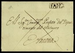 1809, Italien, Brief - Italië
