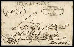 1832, Italien, Brief - Italië