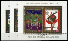 1976, Äquatorial-Guinea, Bl. 225 U.a., Gest. - Äquatorial-Guinea
