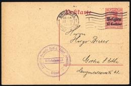 1914, Deutsche Besetzung I. WK Belgien, P 2, Brief - Bezetting 1914-18
