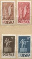 1955 Poland 10th Anniversary Of Polish - Soviet Agreement MNH** - 1944-.... République