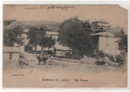 CPA 04 : CORBIERES (B.-Alpes) - Une Ferme - Ed. Lazare - 1915 - RARE - ATTENTION ETAT - Agriculture - Francia