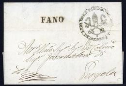 1854, Italien, Brief - Italië