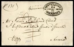 1849, Italien, Brief - Italië