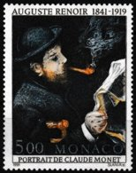 T.-P. Gommé Neuf** - Sesquicentenaire De La Naissance D'Auguste Renoir - N° 1789 (Yvert) - Principauté De Monaco 1991 - Monaco