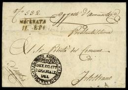 1813, Italien, Brief - Italië